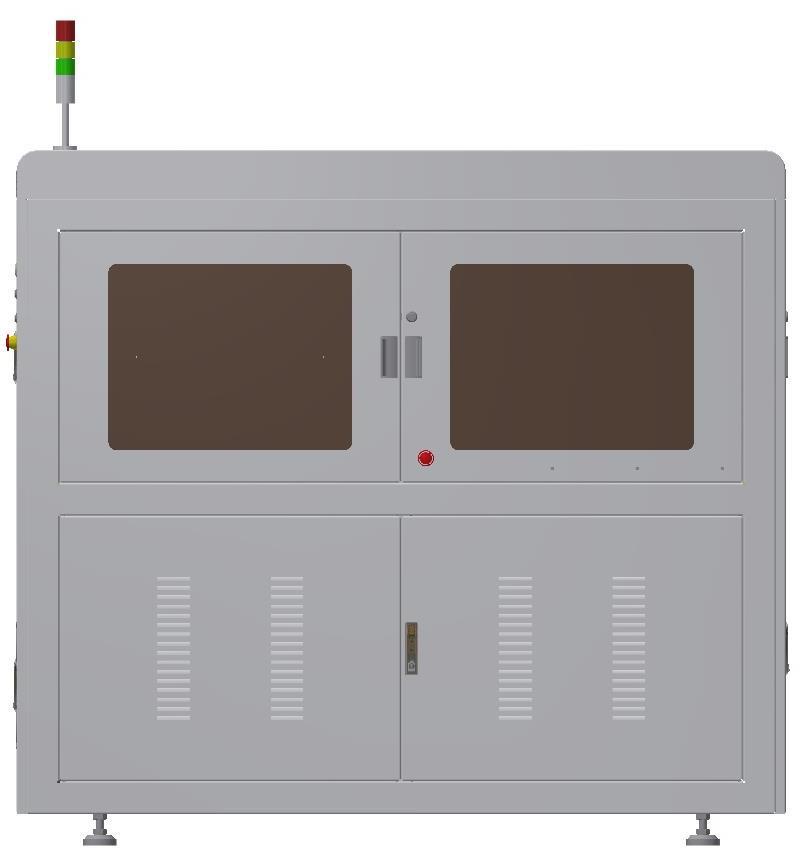 手机充电头金属件尺寸和瑕疵检测设备