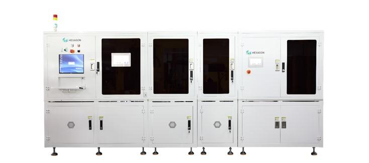 无线充电纳米晶自动化检测方案 ,尺寸与瑕疵检测二合一